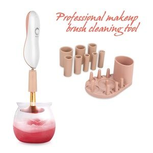 NWT/BNIB Electric Spinning Makeup Brush Cleaner